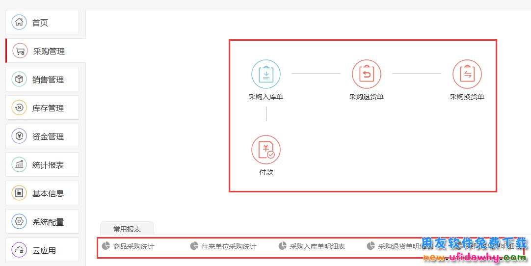 用友畅捷通T1 Plus-商贸宝普及版进销存软件免费试用版下载地址 用友T1 第2张图片