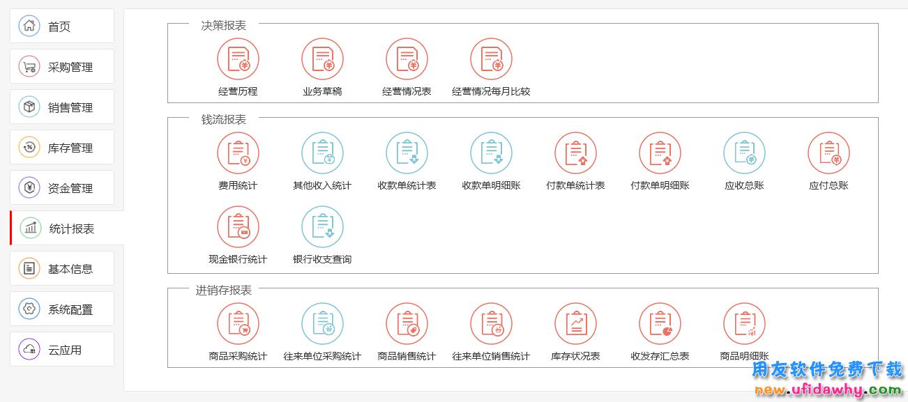用友畅捷通T1 Plus-商贸宝普及版进销存软件免费试用版下载地址 用友T1 第6张图片