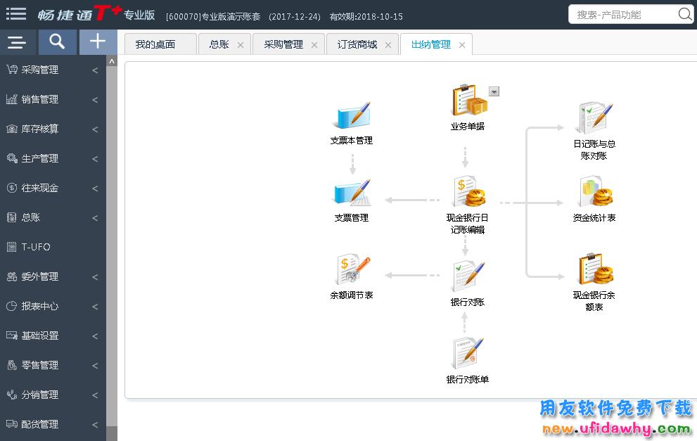 畅捷通T+V12.3专业版财务管理软件免费试用版下载地址