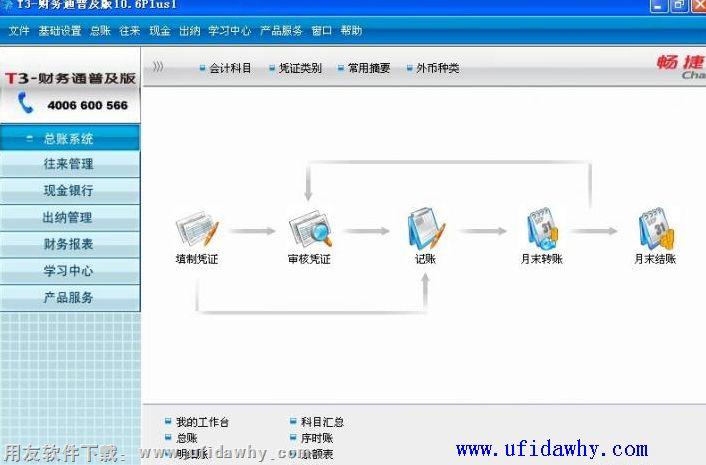 用友T3单机版财务软件免费试用版下载地址 用友T3 第2张图片