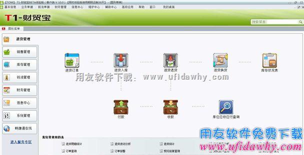 用友T1财贸宝V10.0免费下载及安装教程 用友T1 第1张图片