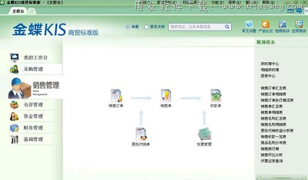 金蝶KIS商贸标准版V6.0免费版下载地址 金蝶软件 第3张图片