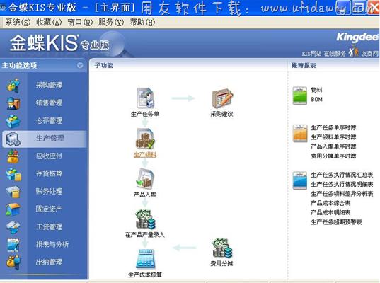 金蝶KIS生产版免费版_金蝶KIS旗舰生产版免费下载地址 金蝶软件 第3张图片