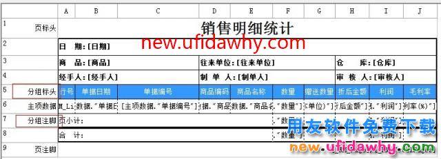 用友T1软件中如何设置部分商品分类统计、分组打印?